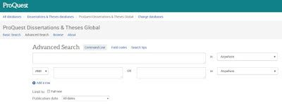 ProQuest umi thesis search engine